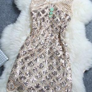 Stylish Atmosphere Beaded Sequined ..