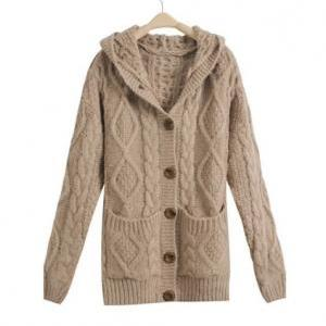 Sexy and fashion Hooded Cardigan Co..