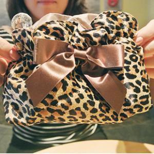 Fashion Leopard Grain Cosmetic Bag&..