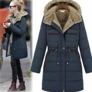 Winter Coat Hood Parka Overcoat Lon..