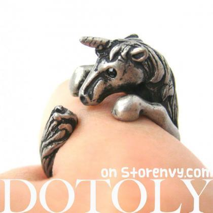 3D Unicorn Horse Animal Hug Wrap Ri..