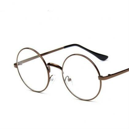 Free shipping retro round glasses #..
