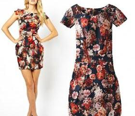 Floral Printed with ..