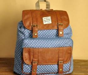 Blue Polka Dots Back..