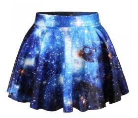 Blue Galaxy Printed ..