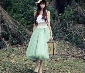 Lovely Skirt Tulle S..