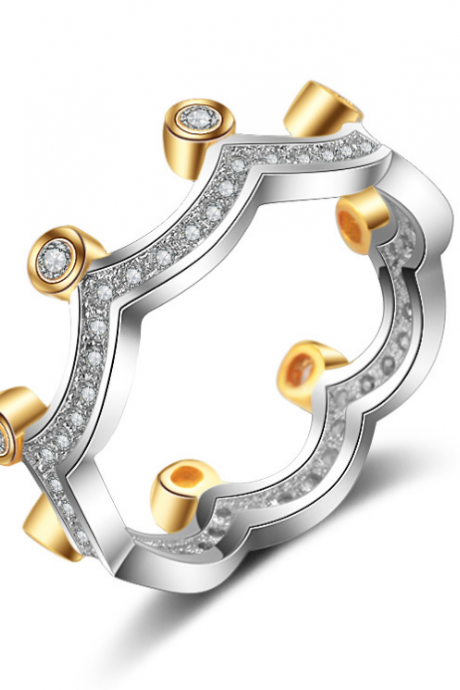 JLD-K140Women's Inlaid Eye Zircon Rings Anniversary Gifts