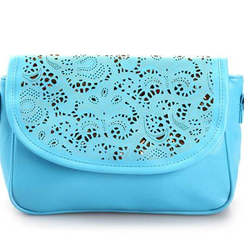 Vintage Feminime Cute Bag - Blue